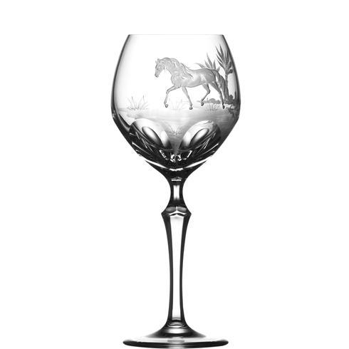 $250.00 Andalusian Horse Water Goblet