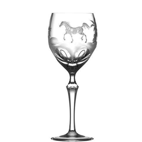 $250.00 Arabian Thoroughbred Wine Glass