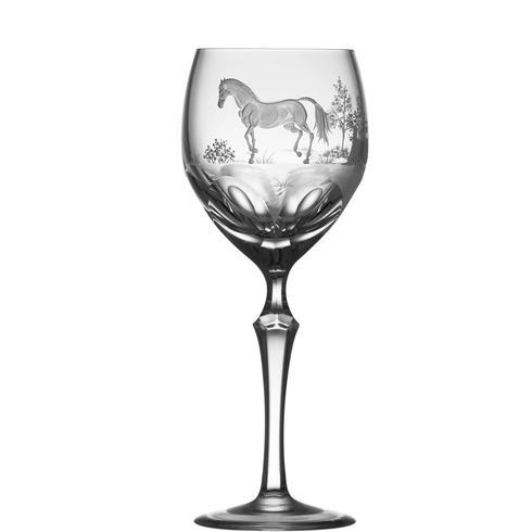 $250.00 English Thoroughbred Wine Glass