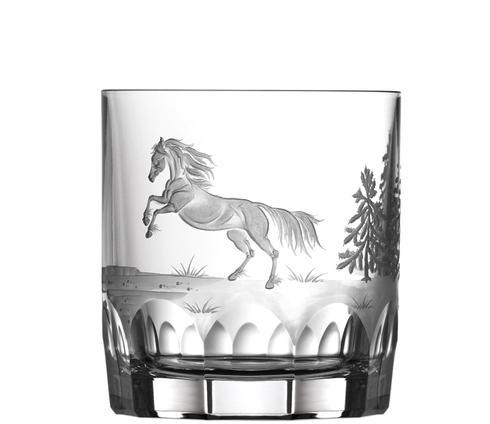 $250.00 Apaloosa Horse Double Old Fashioned