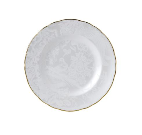 Royal Crown Derby  Aves - Pearl Salad/Dessert Plate $80.00