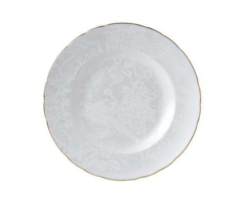 Royal Crown Derby  Aves - Pearl Dinner Plate $100.00