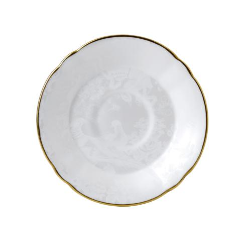 Royal Crown Derby  Aves - Pearl Tea Saucer $52.00