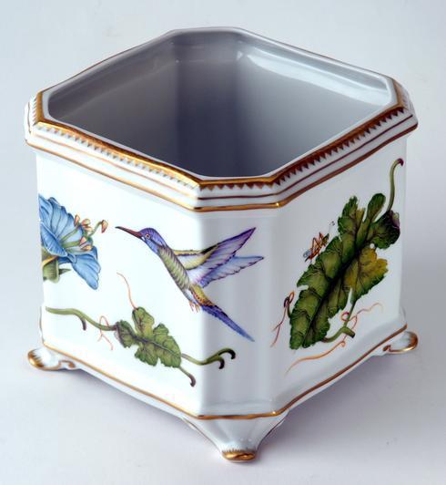 $595.00 Hummingbird Square Cachepot
