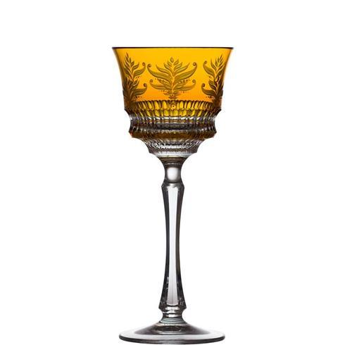 $238.00 Amber Wine Glass