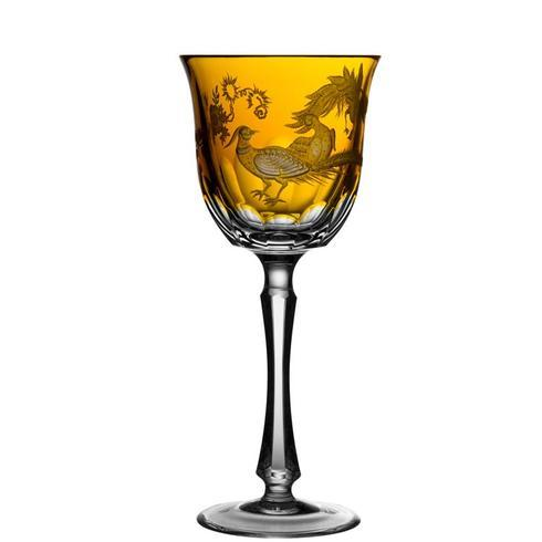$398.00 Amber Water Glass