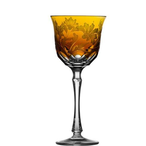 $298.00 Amber Water Glass