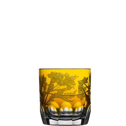 $298.00 Amber Double Old Fashioned Glass
