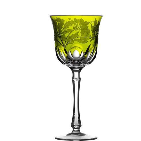 $298.00 Yellow/Green Water Glass