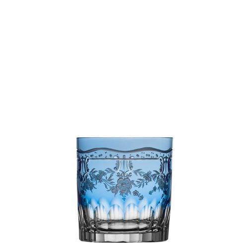 $298.00 Sky Blue Double Old Fashioned Glass