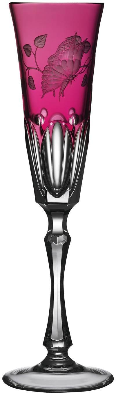 $248.00 Raspberry Champagne Flute