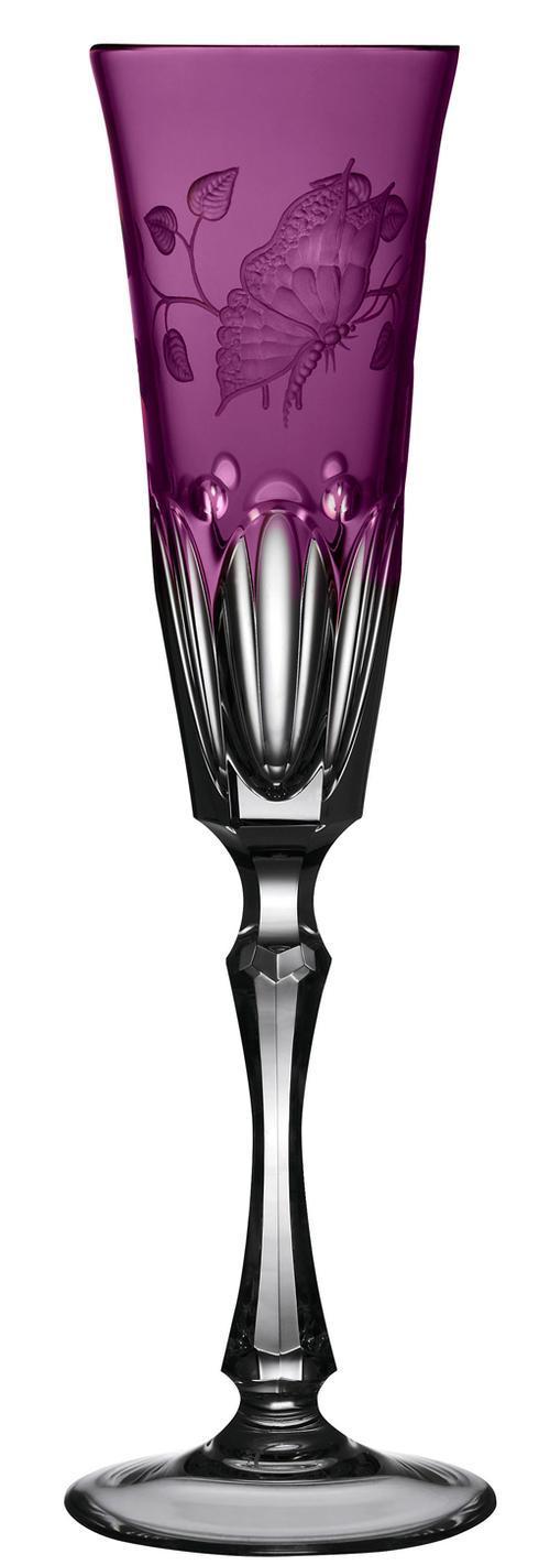 $248.00 Amethyst Champagne Flute