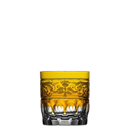 $318.00 Amber Double Old Fashioned Glass