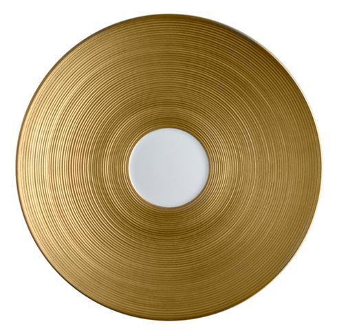 J.L. Coquet  Hemisphere - Gold Tea Saucer $130.00