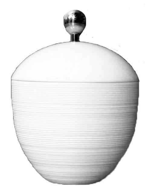 $156.00 Sugar Bowl with Stainless Steel Accents
