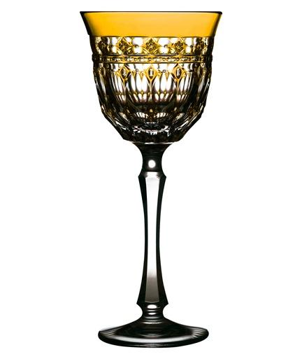 $268.00 Amber Water Glass