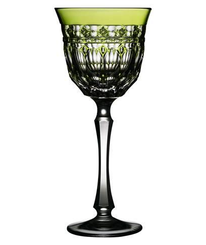 $268.00 Yellow/Green Water Glass