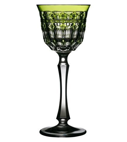$268.00 Yellow/Green Wine Glass