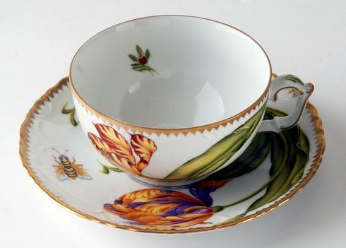 Anna Weatherley  Old Master Tulips Cup & Saucer $440.00