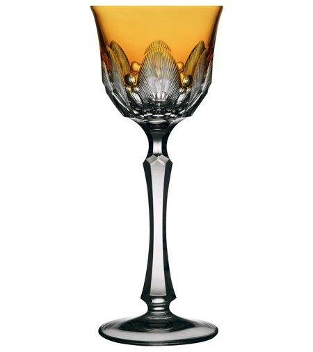 $230.00 Amber Wine Glass
