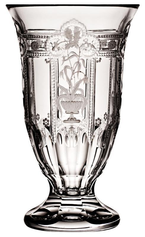 "$348.00 Footed Vase 8"""