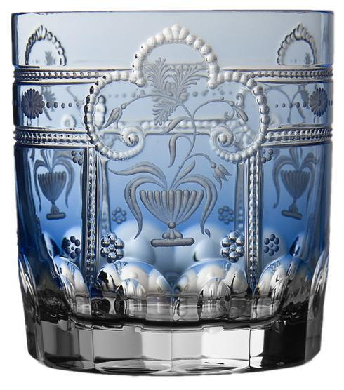 $298.00 Sky Blue Double Old Fashioned