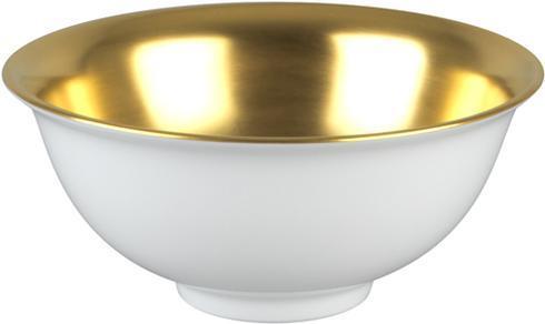$189.00 Rice Bowl - Gold Inside