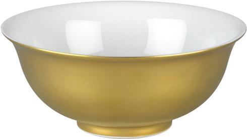 $295.00 Soup Bowl - Gold Outside