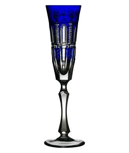 $348.00 Cobalt Champagne Flute