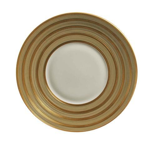 Hemisphere Beige Green With Golden Stripes Charger collection with 1 products