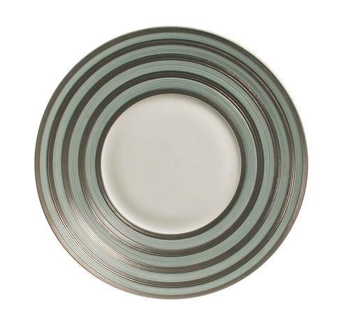 $138.00 Storm Blue With Metallic Grey Stripes Dinner