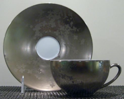$30.00 Clematites Incrustation Tea Saucer