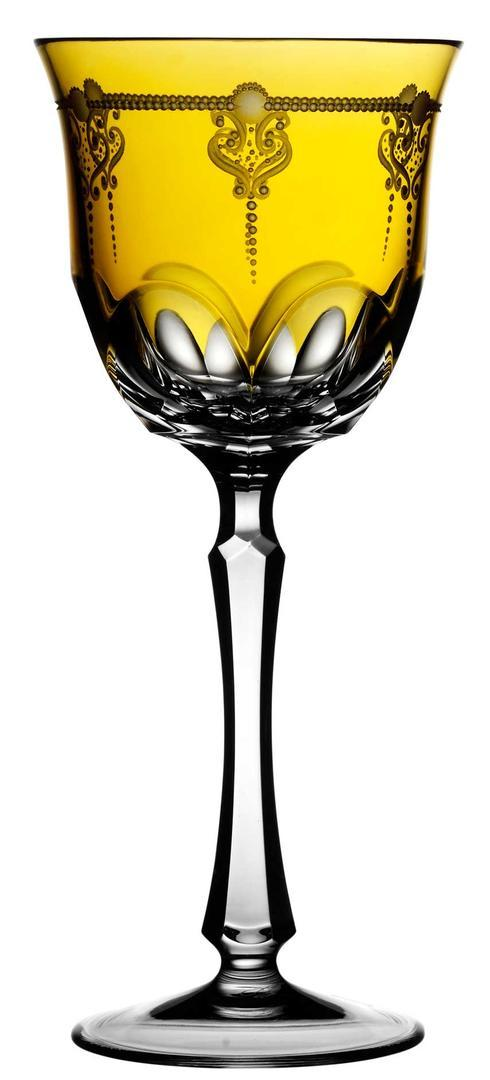$218.00 Amber Water Glass