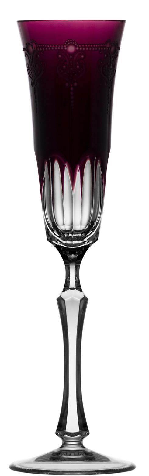 $218.00 Amethyst Champagne Flute