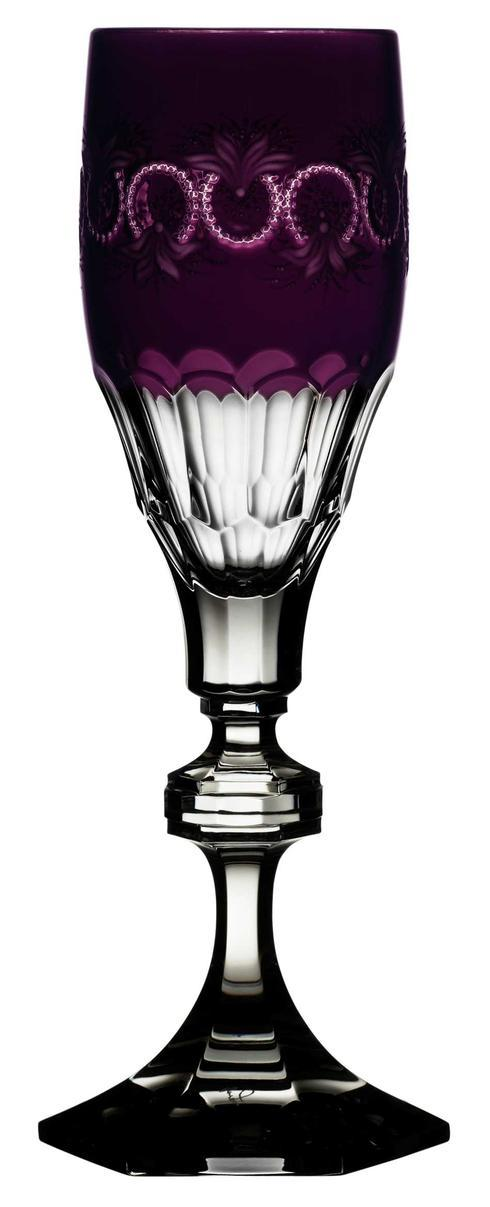 $248.00 Amethyst Champagne Flute
