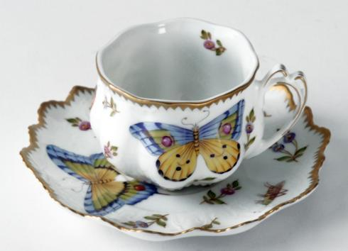 $405.00 Ruffled Cup and Saucer