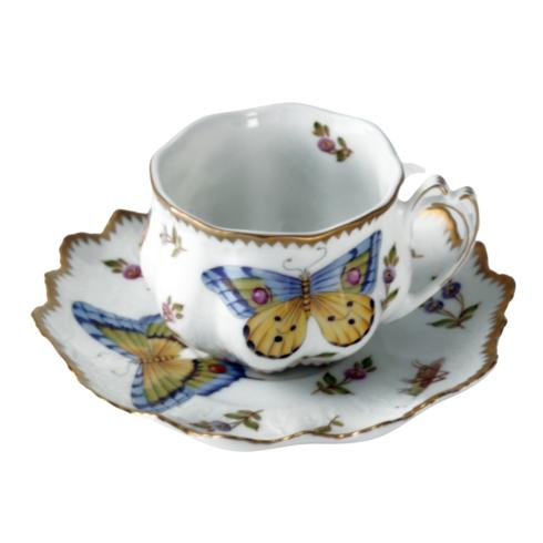 Anna Weatherley  Spring in Budapest Ruffled Cup and Saucer $405.00