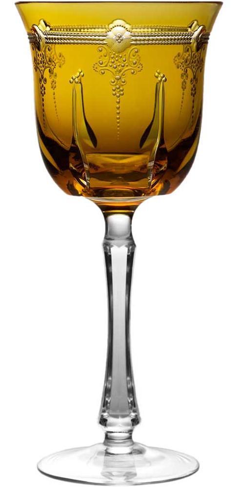 $230.00 Amber Water Glass