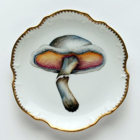 $320.00 Mushroom #1 Hors D\'Oeuvre Plate