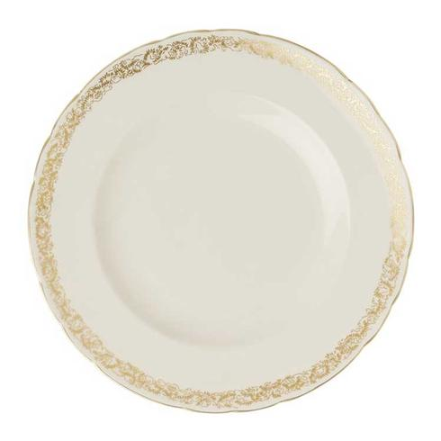 Royal Crown Derby  Aves - Gold Narrow Border Band Dinner Plate $120.00