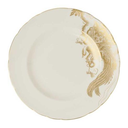 Royal Crown Derby  Aves - Gold Motif  Dessert Plate $120.00