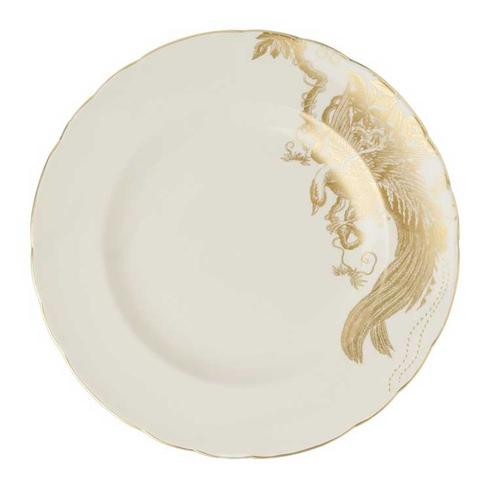 Royal Crown Derby  Aves - Gold Motif  Dinner Plate $135.00