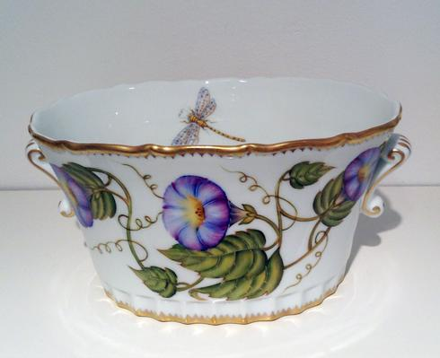$425.00 Morning Glory Oval Cachepot