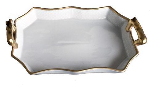 Anna Weatherley  Anna\'s Golden Patina Tray with Handles $110.00