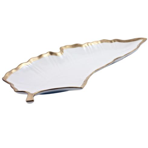 Anna Weatherley  Anna\'s Golden Patina Large Leaf Tray $150.00
