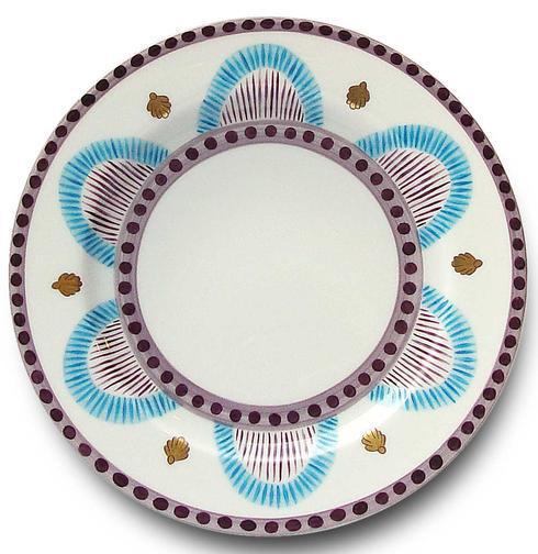 $242.00 Blue Dessert Plate