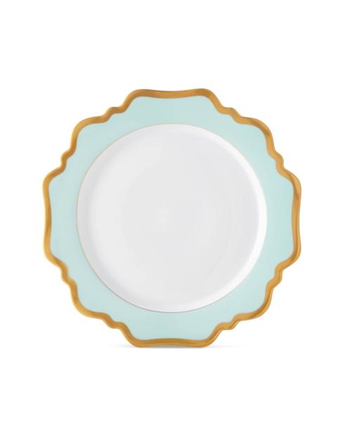 Anna Weatherley  Anna\'s Palette - Aqua Green Dinner Plate $110.00