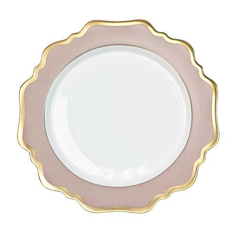 Anna Weatherley  Anna\'s Palette - Dusty Rose Dessert Plate $75.00