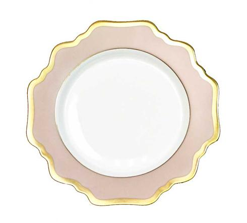 Anna Weatherley  Anna\'s Palette - Dusty Rose Bread and Butter Plate $64.00