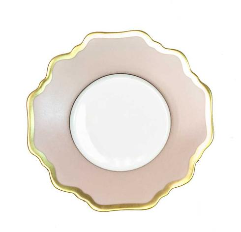 Anna Weatherley  Anna\'s Palette - Dusty Rose Tea Saucer $62.00
